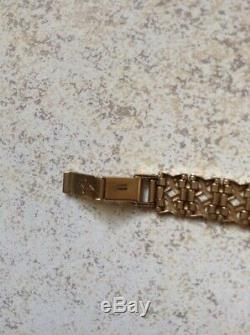 Rotary Ladies Solid 9ct Gold Watch & Solid 9ct Bracelet 19.6 grams