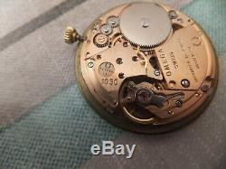 Superb Vintage Omega 9 ct solid gold watch / bracelet, 1979, boxed, wow