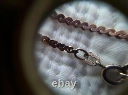 VINTAGE Solid 9ct Rose Gold Fully Hallmarked S shape Link Bracelet Stamped 375
