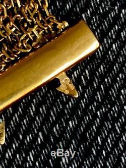 VVGC 9ct Gold Mesh Bracelet 18.4cm, 18g With Original Receipt & Box