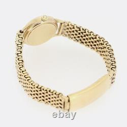 Vintage 1966 Omega Ladies Manual Bracelet Watch 9ct Yellow Gold