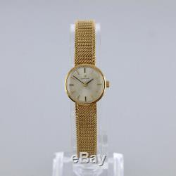 Vintage (1967) Omega 9ct yellow gold ladies manual bracelet watch