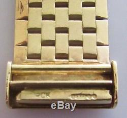 Vintage International Watch Co 9ct yellow gold 1965 ladies manual bracelet watch