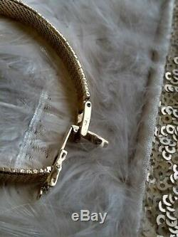 Vintage Omega Oval Bracelet 9ct Gold Ladies Watch Elegant Cocktail Party 50th