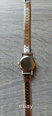 Vintage Solid Heavy 9 Ct Gold Omega Ladies Watch Including Origional Box