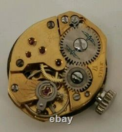 Vtg 1968 Rotary Ladies Solid 9ct Gold Watch on 9K Bracelet Original Box Paper 9g